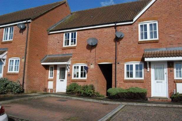 2 Bedrooms Terraced House for sale in Clevedon Court, Middlemore, Daventry NN11 8AD