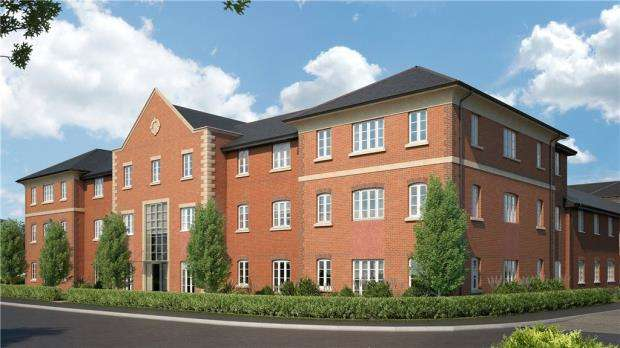 2 Bedrooms Apartment Flat for sale in Woodhurst Park, Warfield, Berkshire