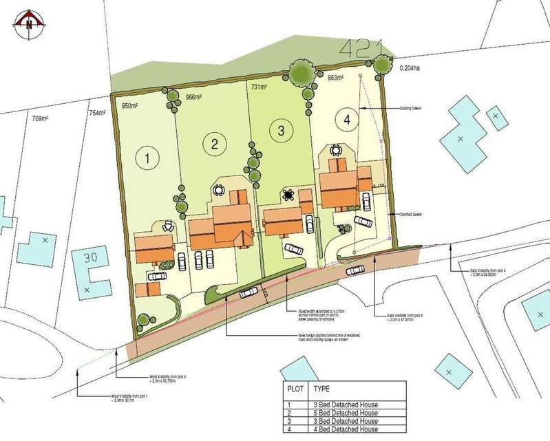 Land Commercial for sale in Pear Tree Lane, Whitchurch