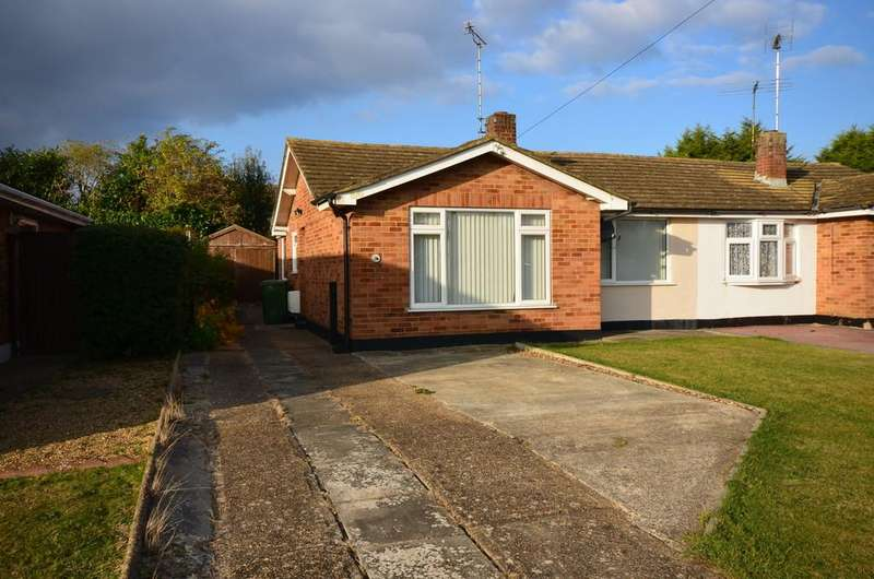 2 Bedrooms Semi Detached Bungalow for sale in Cromwell Way, Witham
