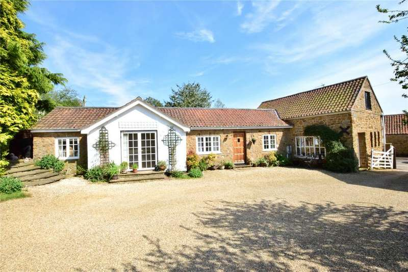 3 Bedrooms Barn Conversion Character Property for sale in Wartnaby Road, Ab Kettleby, Melton Mowbray