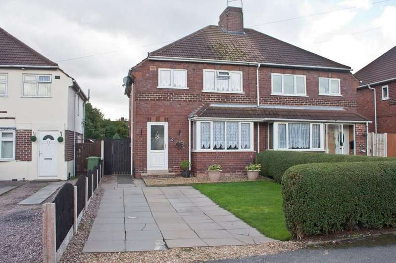 2 Bedrooms Semi Detached House for sale in Mill Road, Brownhills