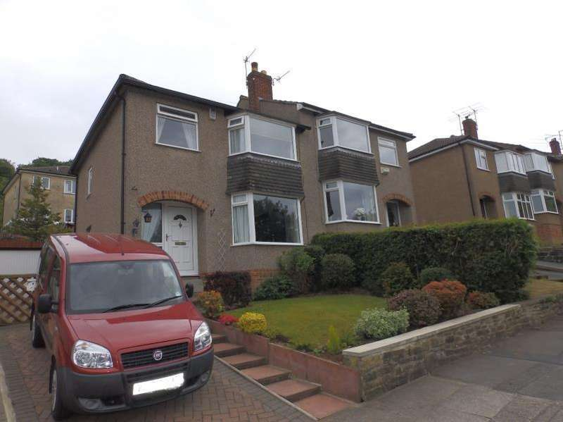 3 Bedrooms Semi Detached House for sale in NAB WOOD ROAD, SHIPLEY, BD18 4AG