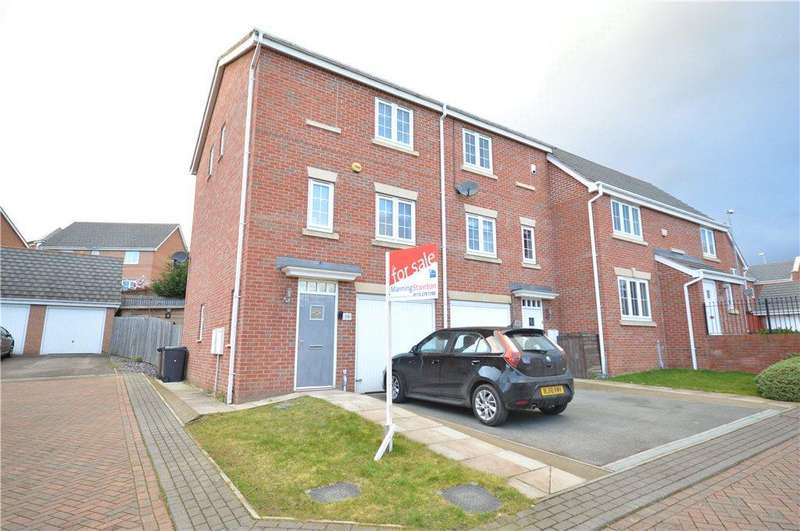 3 Bedrooms Town House for sale in Peart Place, Leeds, West Yorkshire