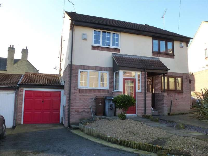 2 Bedrooms Semi Detached House for sale in Ashwood Close, Worsbrough, Barnsley, South Yorkshire, S70