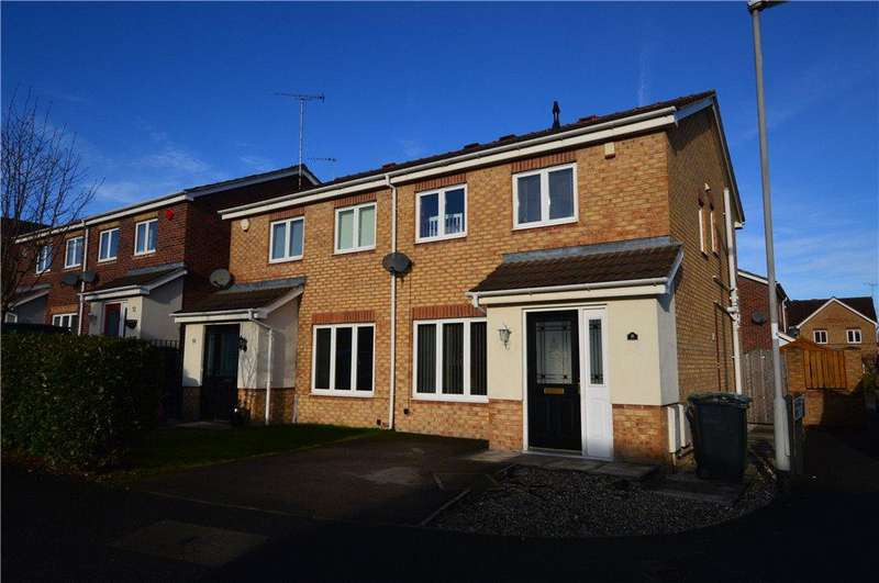 3 Bedrooms Semi Detached House for sale in Farrier Way, Robin Hood, Wakefield, West Yorkshire