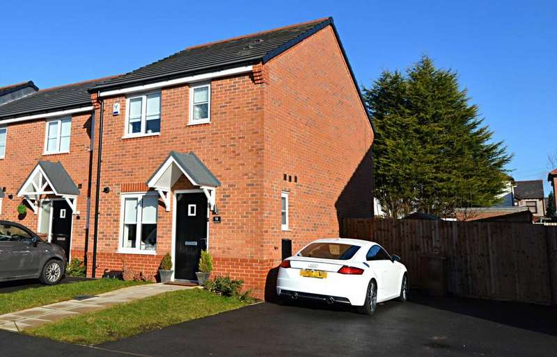 3 Bedrooms Semi Detached House for sale in St Aelreds Drive, Newton Le Willows