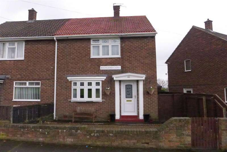 2 Bedrooms Semi Detached House for sale in Buckland Close, Houghton Le Spring