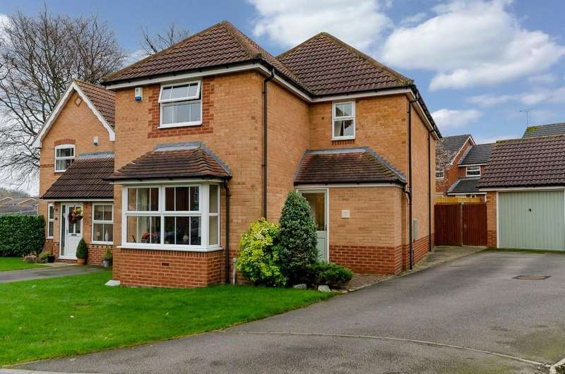 3 Bedrooms Detached House for sale in White Moss Close, Ackworth