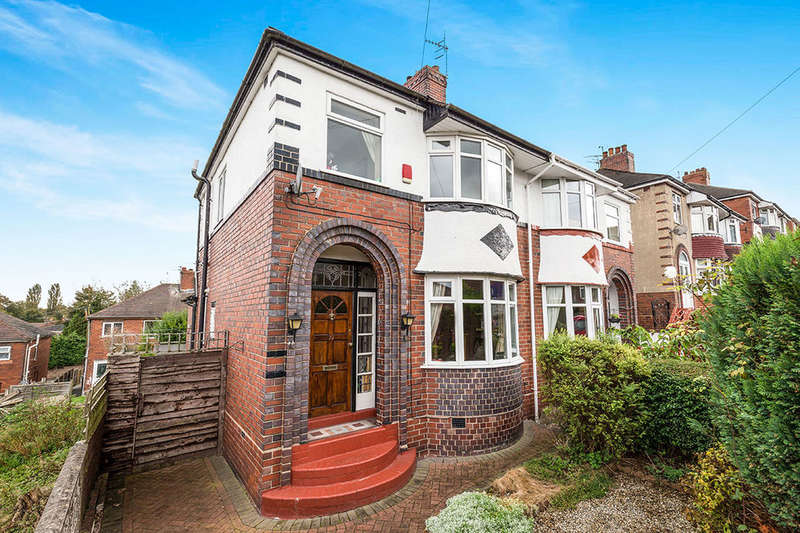 3 Bedrooms Semi Detached House for sale in Highfield Avenue, Meir, Stoke-On-Trent, ST3