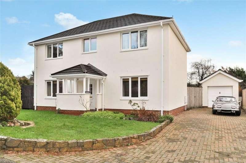 4 Bedrooms House for sale in Millstream Gardens, Halberton, Tiverton, Devon, EX16