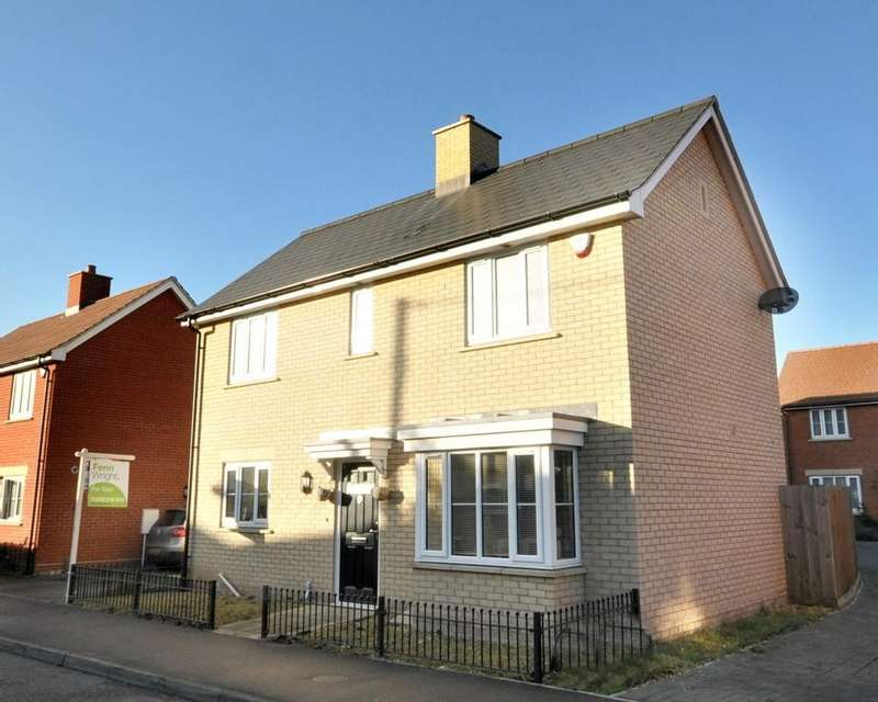 3 Bedrooms Detached House for sale in New Farm Road, Stanway, West Colchester
