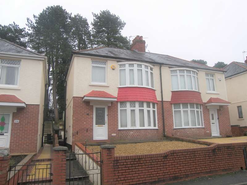 3 Bedrooms Semi Detached House for sale in Wenham Place, Neath