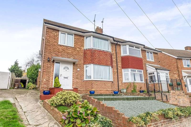 3 Bedrooms Semi Detached House for sale in Rolvenden Road, Wainscott, Rochester, ME2