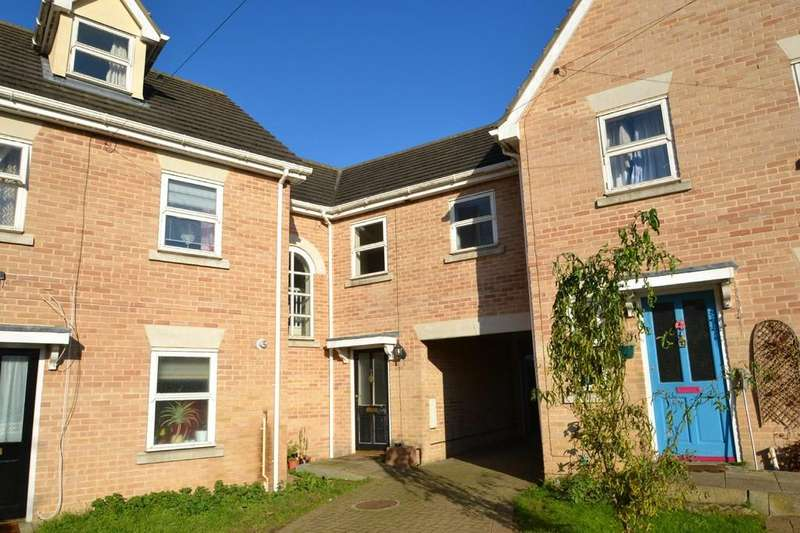 3 Bedrooms Town House for sale in The Courtyard, Cumberland Street, Ipswich