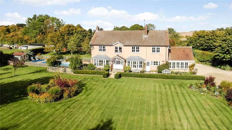 5 Bedrooms Detached House for sale in Haywood Lane, Therfield, Royston, Hertfordshire