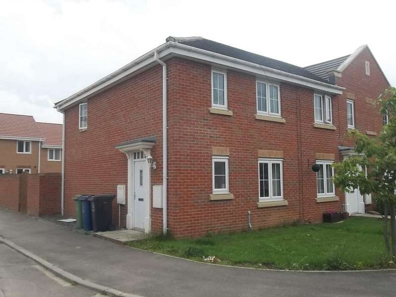 3 Bedrooms End Of Terrace House for sale in Wentworth Close, Gainsborough