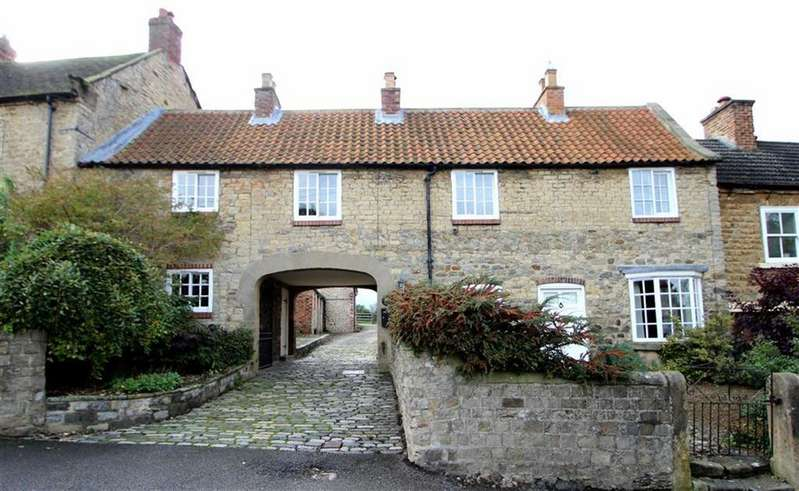 4 Bedrooms Terraced House for sale in The Green, Crakehall, Bedale