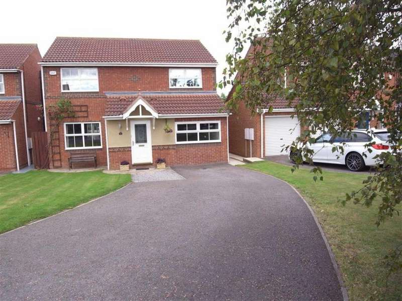 4 Bedrooms Detached House for sale in Oaklea Mews, Aycliffe Village, County Durham