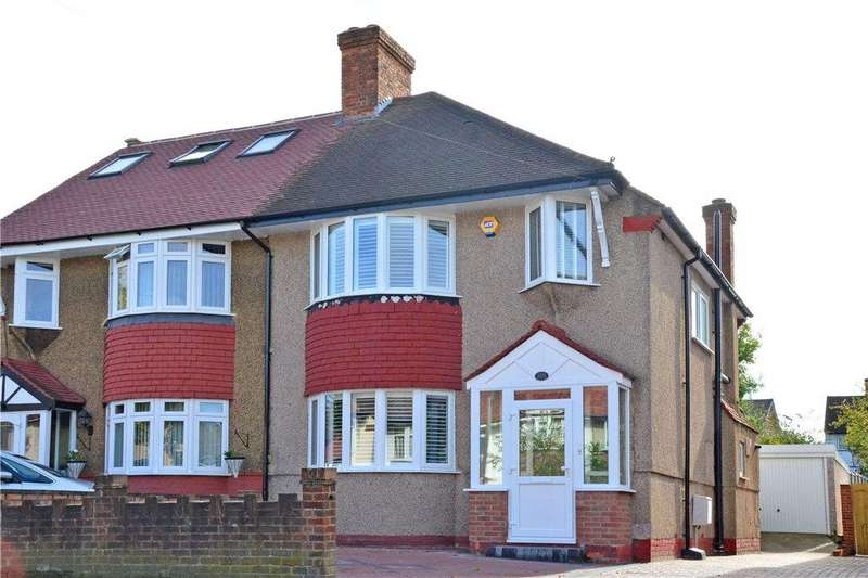 3 Bedrooms Semi Detached House for sale in Wricklemarsh Road, Blackheath, London, SE3