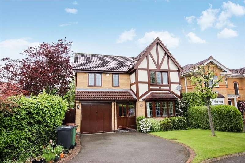 4 Bedrooms Detached House for sale in Fairfax Close, Ashby-de-la-Zouch