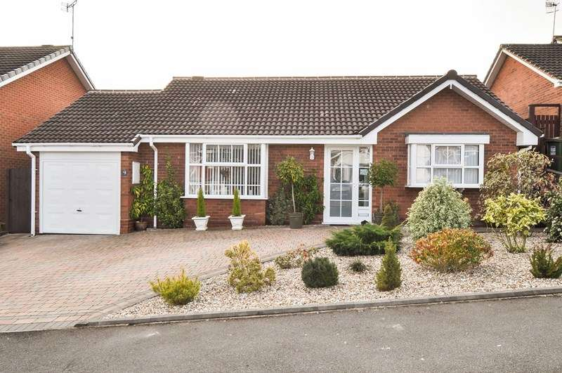 2 Bedrooms Detached Bungalow for sale in Ridings Lane, Church Hill North, Redditch