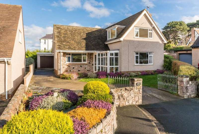 4 Bedrooms Detached House for sale in Craigside, Llandudno, North Wales