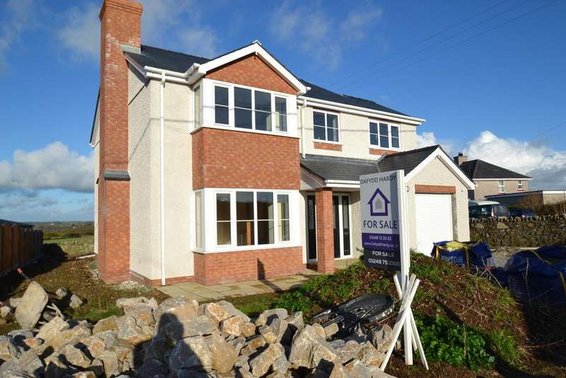 3 Bedrooms Detached House for sale in Hermon, Bodorgan, North Wales