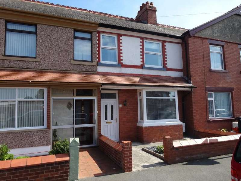 2 Bedrooms Terraced House for sale in Victoria Road, Rhyl