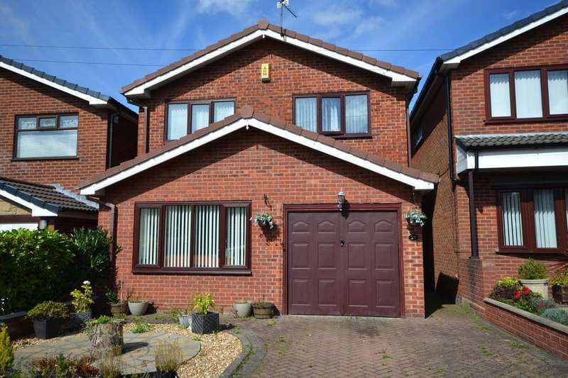 3 Bedrooms Detached House for sale in Wheatsheaf Avenue, Sutton Leach, St. Helens