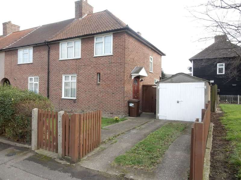 3 Bedrooms End Of Terrace House for sale in Homestead Road, Dagenham, Essex, RM8 3DT