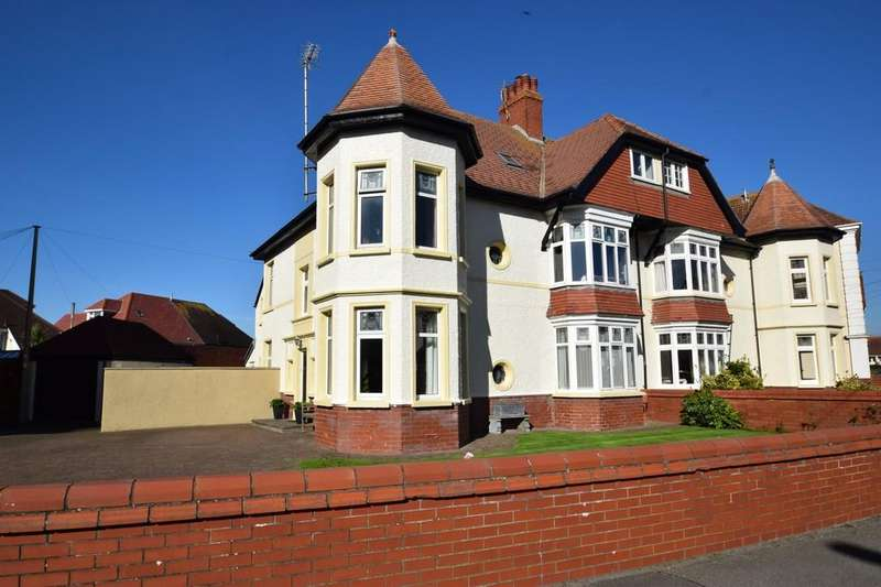 7 Bedrooms Semi Detached House for sale in Tower House, 2 Lougher Gardens, Porthcawl, Bridgend County Borough, CF36 3BJ.