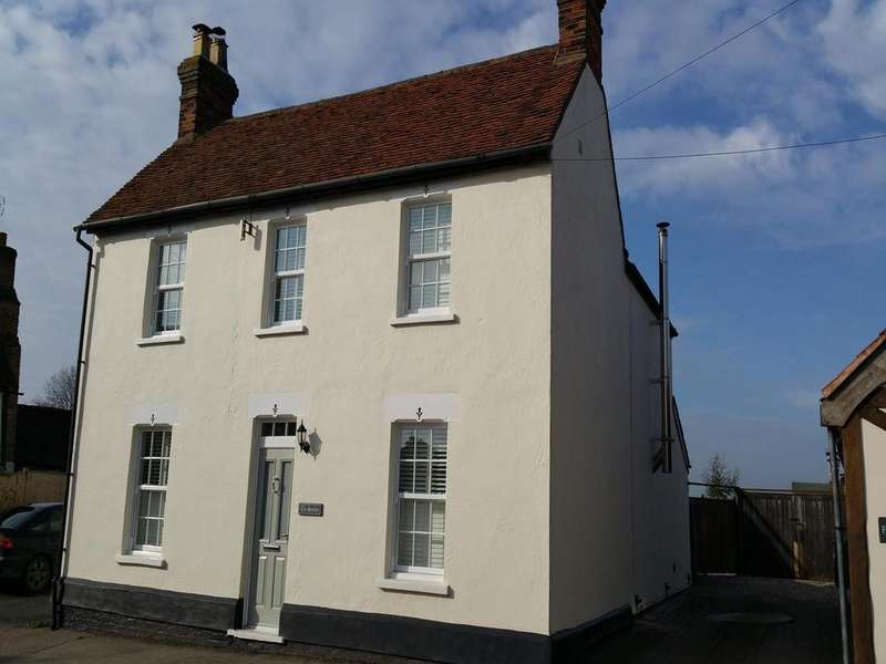 4 Bedrooms Detached House for sale in The Street, High Roding, Dunmow, Essex, CM6