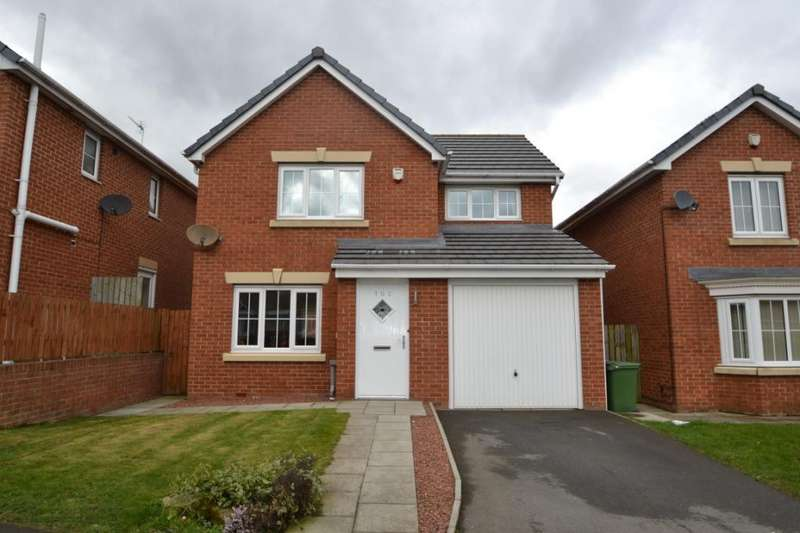 3 Bedrooms Detached House for sale in Chillerton Way, Wingate, County Durham, TS28