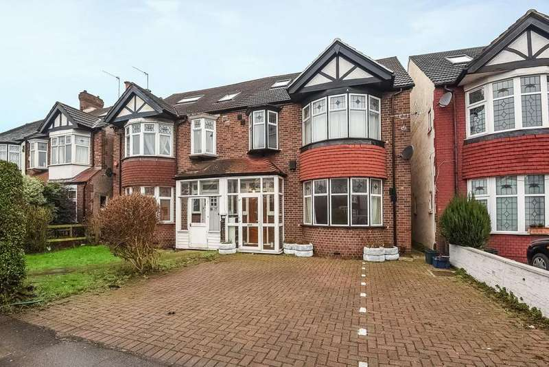 5 Bedrooms Semi Detached House for sale in Grand Drive, Raynes Park, SW20