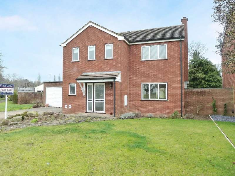 4 Bedrooms Detached House for sale in Dovehouse Drive, Wellesbourne
