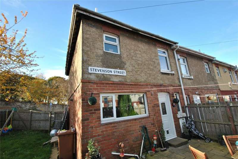 2 Bedrooms End Of Terrace House for sale in Stevenson Street, Houghton le Spring, Tyne and Wear, DH4