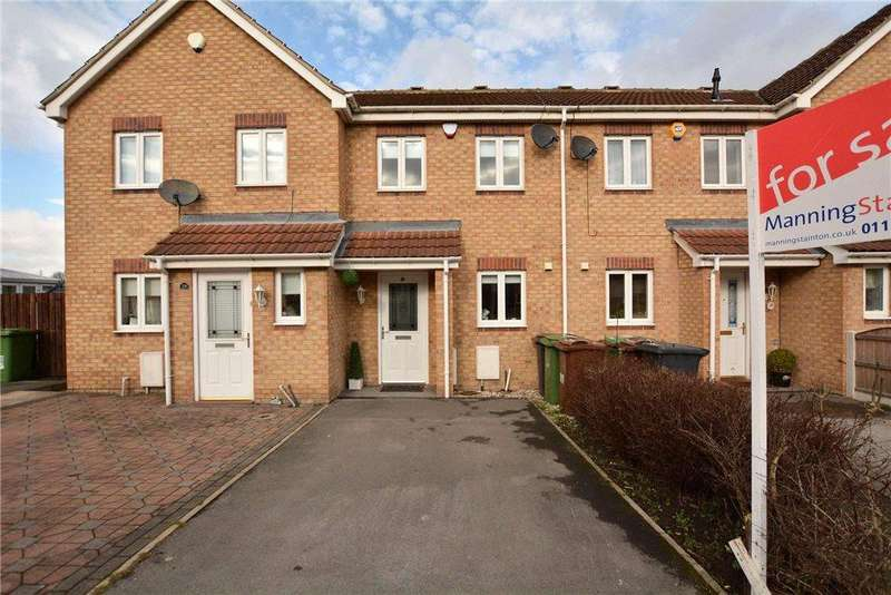 2 Bedrooms Terraced House for sale in Forrester Court, Robin Hood, Wakefield, West Yorkshire