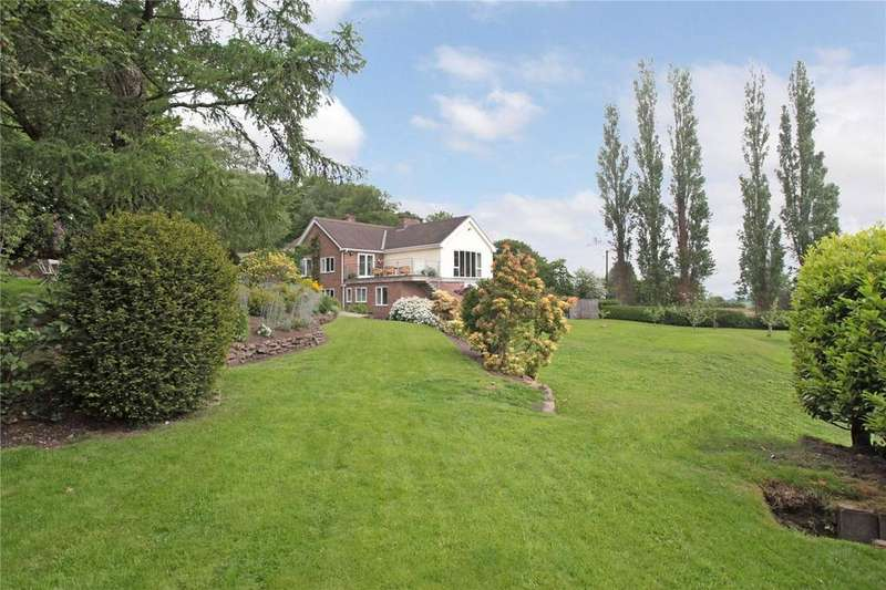 5 Bedrooms Detached House for sale in Gallantry Bank, Bickerton, Malpas, Cheshire, SY14