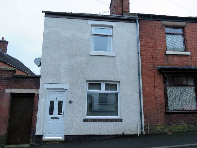 2 Bedrooms End Of Terrace House for sale in Ford Street, Leek, Staffordshire