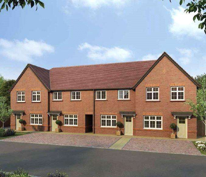2 Bedrooms Terraced House for sale in Sargent Terrace, Waterlooville, Hampshire, PO7