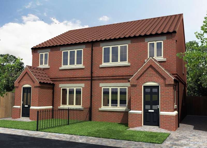 3 Bedrooms Semi Detached House for sale in Plot 6, Sandhills Mews