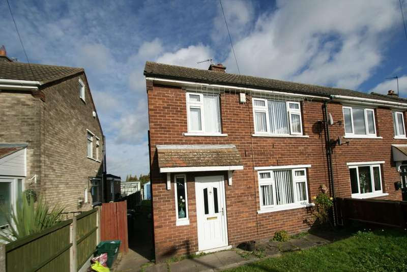 3 Bedrooms Semi Detached House for sale in Hesley Road, New Rossington