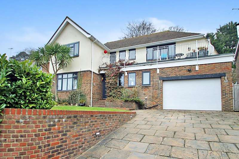 4 Bedrooms Detached House for sale in Longlands, Worthing BN14 9NN