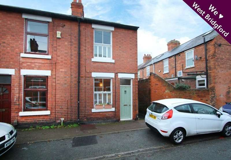 2 Bedrooms End Of Terrace House for sale in Clumber Road, West Bridgford, Nottingham, NG2