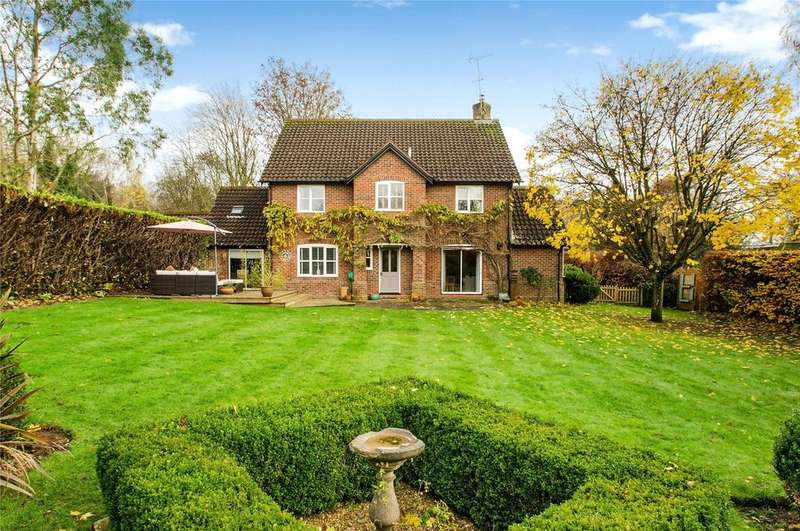 4 Bedrooms Detached House for sale in Chillandham Lane, Itchen Abbas, Winchester, Hampshire, SO21