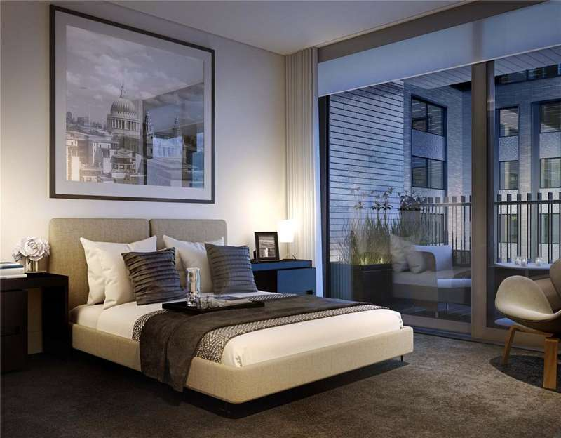 3 Bedrooms Flat for sale in Rathbone Square, Rathbone Place, Fitzrovia, London, W1T