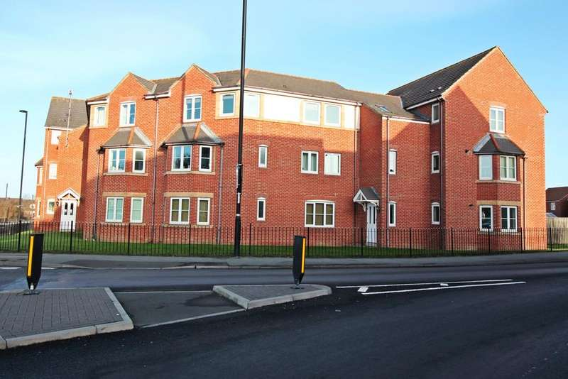 2 Bedrooms Apartment Flat for sale in Edgefield, Northumberland Park, Newcastle Upon Tyne