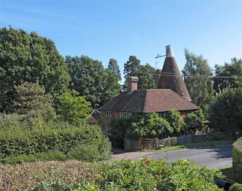 4 Bedrooms Detached House for sale in Saints Hill, Penshurst, Tonbridge, Kent, TN11