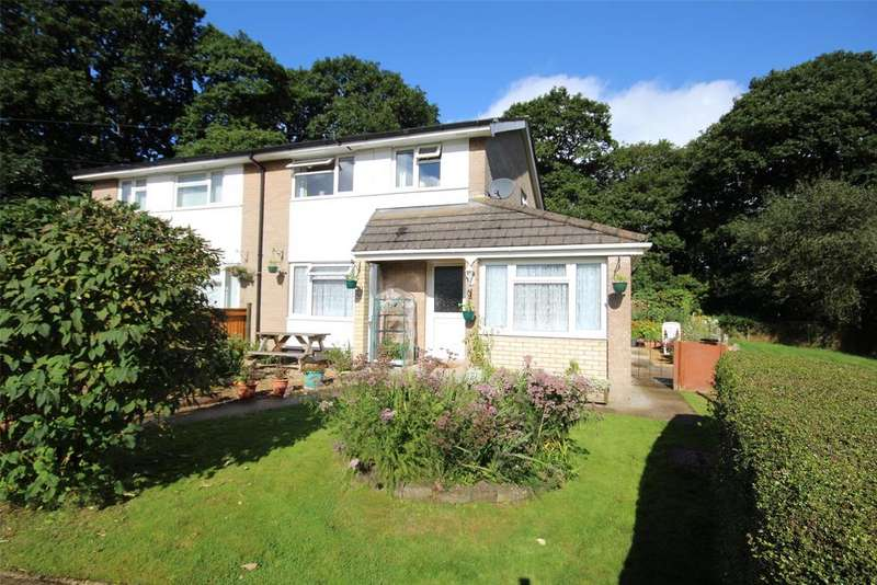 3 Bedrooms Semi Detached House for sale in Coedwaungar, Sennybridge, Brecon, Powys